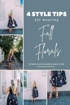 It's fall again! So that means it's time to pull out the fall florals! With my style tips, you'll be an expert at wearing them in no time! You're going to love this fall favorite! Let's elevate your style together! #styletips #fallflorals #wardrobemust #elevateyourstyle #fallstyle