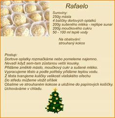 Vianočné pečivo Christmas Baking, Christmas Cookies, Czech Recipes, No Bake Cake, Sweet Recipes, Ale, Vegetarian Recipes, Food And Drink, Yummy Food