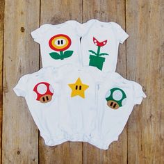 Ultimate Nintendo Baby Clothes Gift Pack on Etsy, $78.48 CAD