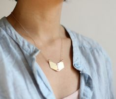 Minimalist Chevron Necklace