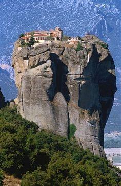 The Monastery of the Holy Trinity, Greece.