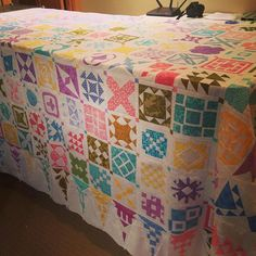 Look what just came out of storage! #dearjanequilt #babyjanequilt #thatquilt
