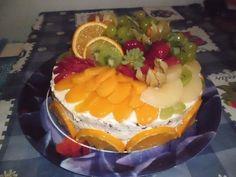 Ovocný Míša dort
