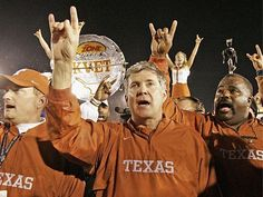 In 13 seasons at Texas, Mack Brown is 133-34.   Brown has won about 80 percent of his games with the Longhorns.  #Hookem
