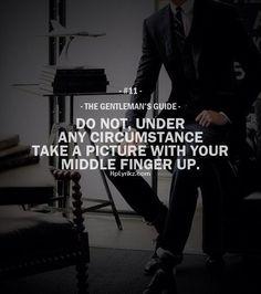 The Gentleman's Guide ...XoXo