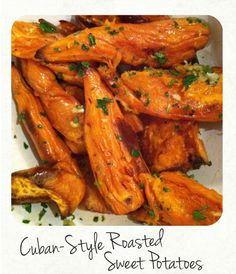 Sweet Potatoes Cuban-Style Roasted