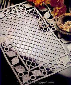 Diy Crafts - Great choice of schemes to crochet Filet Crochet, Crochet Diagram, Irish Crochet, Crochet Motif, Crochet Doilies, Crochet Stitches, Embroidery Stitches, Knit Crochet, Thread Crochet