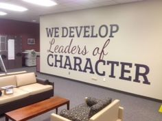 M Office, Business Office Decor, Bryan Texas, Texas A&m, Open Wall, Large Format Printing, Infographics, Banners, Wall Decals