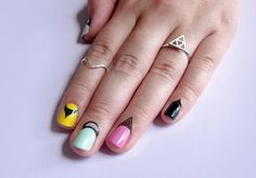 Looks like nail art isn't just for your nails anymore. REPIN if you'd try cuticle art! #Nails