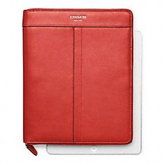 The Tech Accessories Shop:  Coach Legacy Leather Zip Around iPad Case