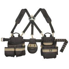 CLC Work Gear 1614 23 Pocket-5 Piece Framer's Comfort Lift Combo Rig Tool Belt