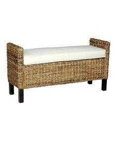 Loving this Gabrillo Double Bench on #zulily! #zulilyfinds