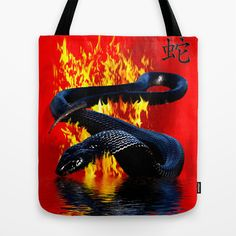 Year of the Snake  Chinese New Year Tote Bag by OnlineGifts - $22.00