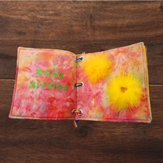 FUN WITH FEATHERS DIY: A QUIET BOOK OF BIRDS #thefeatherplace #feathers #babybirdies