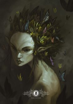 Lady Butterfly by Coliandre.deviantart.com on @DeviantArt