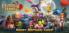 Clash of Clans Birthday
