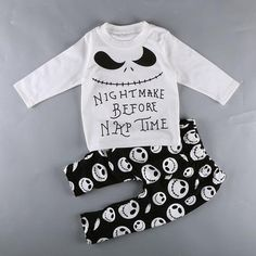 Nightmare Before Nap Time 2 pc Outfit