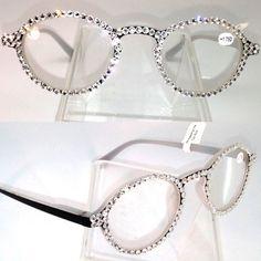 Swarovski Crystal Embellished Reading Glasses by MyPreeBling, $34.95