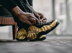 Get The Nike Air Foamposite Pro Metallic Gold Today