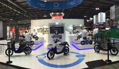 Último día en @official_eicma para que conozcas la scooter más tecnológica #MUVI #dream #tecnology #app