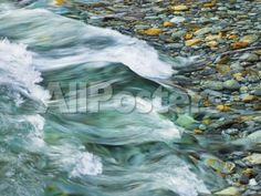 Rocks and waters of Verzasca River by Emile Levy Landscapes Photographic Print - 61 x 46 cm