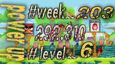 Angry Birds Friends Tournament Week 203  Level 6   power up  HighScore (...