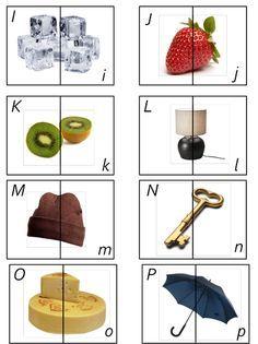 Montessori - tvary písmen + obrázek