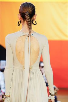 Hairstyle   Celine SS2016
