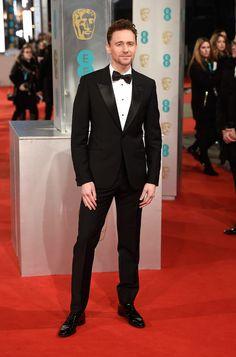 La alfombra roja de los Premios BAFTA 2015 TOM HIDDLESTON