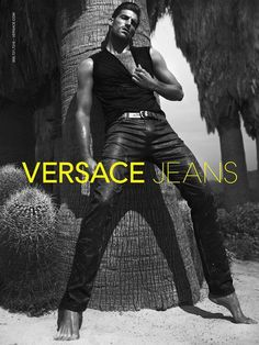 I'm assuming that standing like this is the only way to get into these jeans.    I'd still wear them.