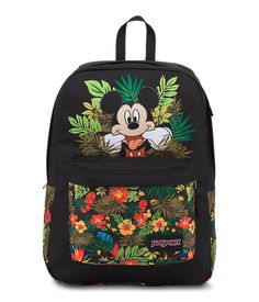 The classic backpack silhouette gets the Disney magic treatment. The Disney High Stakes features super-durable, premium fabric, one main roomy compartment, one front pocket and lots of fun with Mickey and friends.