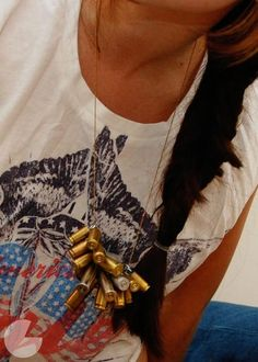 DIY Jewelry DIY Bullet Necklace