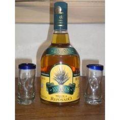 tequila reposado 100 años - 750 ml - faixa azul.