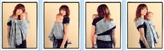 Coolest Hip Cross Carry / CHCC  {from Babywearing 102: Wrapping 360 Project}   ***mid-length wrap carry