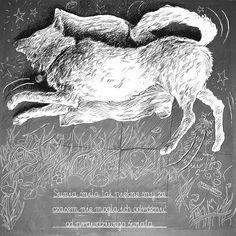 """Popatrz na mój projekt w @Behance: """"dog dream"""" https://www.behance.net/gallery/41914337/dog-dream"""