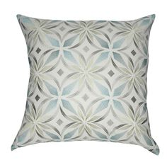 Shop for Loom and Mill 20 x 20-inch Floral Decorative Throw Pillow. Free…