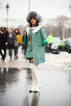 Street Style from the Couture in Paris - NYTimes.com