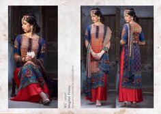 Mugal print designer salwar suit buy full catlog from surat at best price fabric Heavy cotton silk at 1785 rs