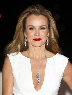 Pin for Later: 33 Stars Who Know How to Rock Red Lipstick Amanda Holden