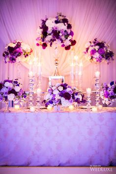 WedLuxe– Purple & Gold Persian Wedding   Photography by: Ikonica  Follow @WedLuxe for more wedding inspiration!