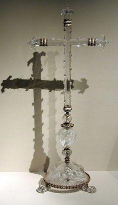 Beautiful 17th Century Altar Cross