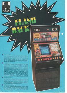 Flash Back by Ace Coin Arcade Games, Coins, Display, Fruit, Classic, Floor Space, Derby, Coining, Rooms