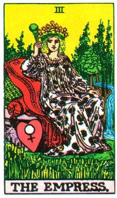 Tarot Card The Empress The Empress, Tarot Reading, Tarot Cards, Magick, Sci Fi, The Past, Artsy, Fictional Characters, Image