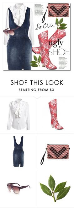 """""""Ugly (But Chic?!) Shoes"""" by svijetlana ❤ liked on Polyvore featuring polyvoreeditorial, uglyshoes and twinkledeals"""