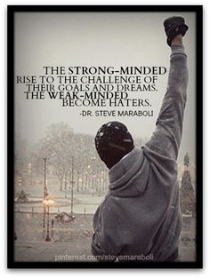 strong-minded vs haters #quote