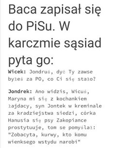 Polish Memes, Weekend Humor, Funny Mems, Motto, Man Humor, Satire, Good To Know, Sarcasm, Funny Pictures