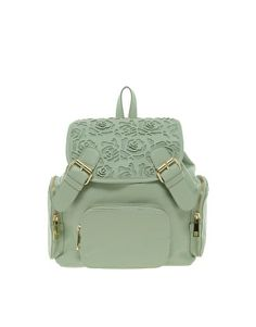 Backpack With Mini Floral Cut Out