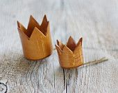 Princess crown bobby pins...absolutely adorable!
