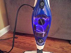 SteamMachine Plus turns blue when it is ready to steam.