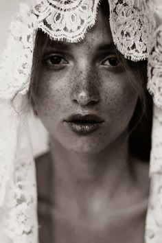 Lace and freckles